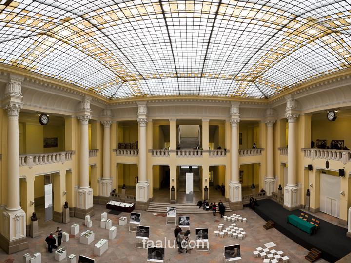 HU - Budapesti Műszaki Egyetem kiállítás installáció