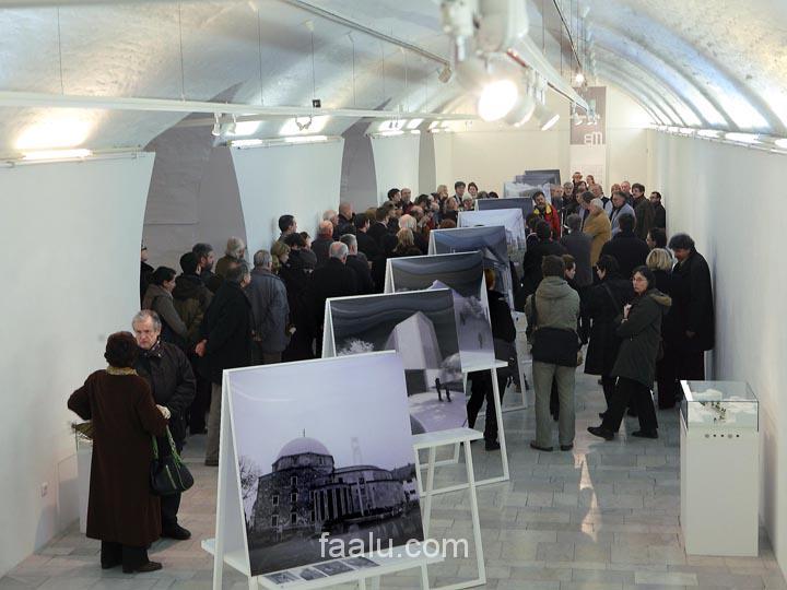 HU - Pécsi tudományegyetem Kiállítás installáció