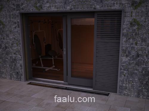 Fix és mozgatható Alumíniumból, vagy fából