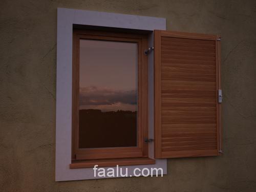 Fix lamellás zsaluk aluminiumból vagy fából