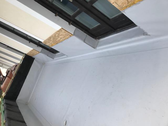 HU - Tihany szálloda terasz szigetelés